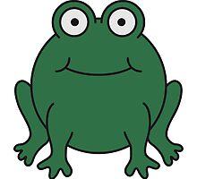 Funny Comic Frog Design by Style-O-Mat