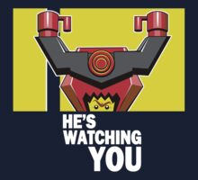 He's watching you by coinbox tees