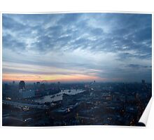 London as seen from St. Paul's Poster