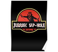 Jurassic Sap-Hole Poster