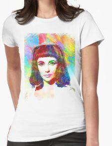 Elizabeth Taylor in Cleopatra Womens Fitted T-Shirt