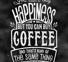 Coffee lover's Poster - Chalkboard Style by Rockinchalk