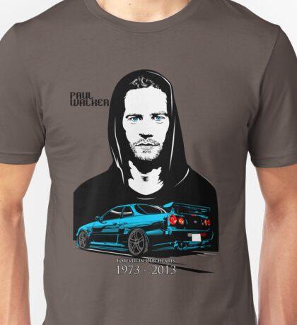 Paul Walker 01 Unisex T-Shirt