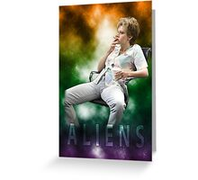 ALIENS Greeting Card