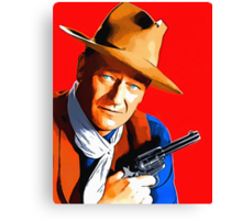John Wayne in Rio Bravo Canvas Print