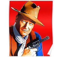 John Wayne in Rio Bravo Poster