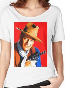 John Wayne in Rio Bravo Women's Relaxed Fit T-Shirt