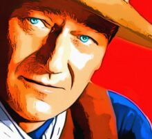 John Wayne in Rio Bravo Sticker