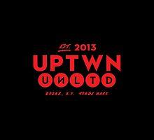 UPTWN UNLTD FONE CAZE by uptwnunltd