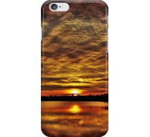 Another day is over. iPhone Case/Skin