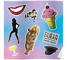 Duran Duran Paper Gods Poster