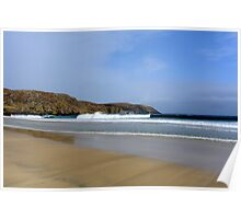 Valtos Beach - Isle of Lewis Poster