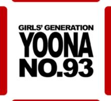 Girls Generation - Number Tee Sticker