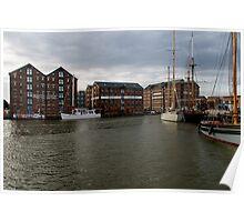 Gloucester Docks Poster
