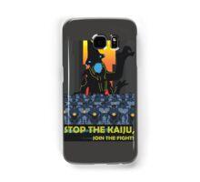 Stop The Kaiju Samsung Galaxy Case/Skin
