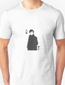 Sherlock - Ace of Clubs Unisex T-Shirt