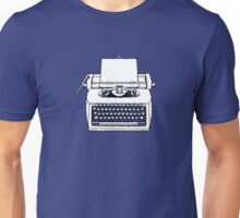 typewriter Unisex T-Shirt