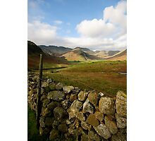 Langdale Views Photographic Print