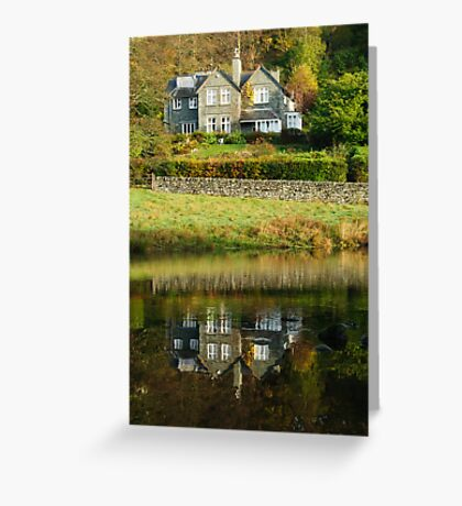 Rydal Water Reflections Greeting Card