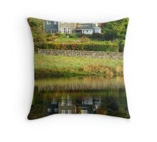 Rydal Water Reflections Throw Pillow