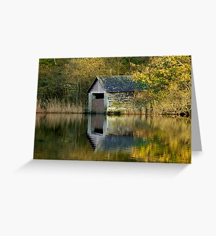 Rydal Water Boathouse Greeting Card