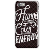 Flannel Energy iPhone Case/Skin