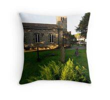 Coniston Church Throw Pillow