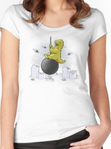 Wrecking ball Women's Fitted Scoop T-Shirt