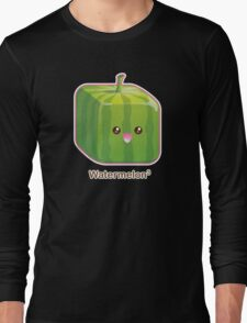Cute Square Watermelon Long Sleeve T-Shirt