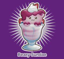 Kawaii Beary Sundae Ice Cream T-Shirt