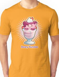 Kawaii Beary Sundae Ice Cream Unisex T-Shirt