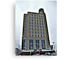 Beautiful Old Abandoned Office Building Canvas Print
