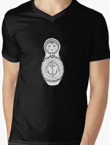 Matryoshka Doll Mens V-Neck T-Shirt