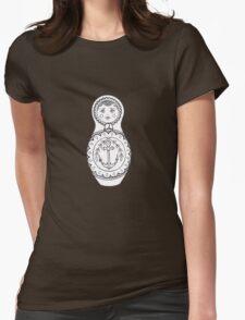 Matryoshka Doll Womens Fitted T-Shirt