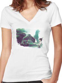 Kachina Women's Fitted V-Neck T-Shirt