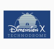 The Happiest Place in Dimension X (Sticker) by thom2maro