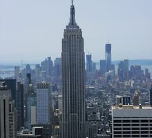 Empire State Building by cadellin