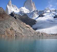 Monts Fitz Roy, Argentina by cadellin