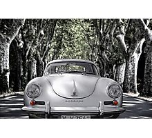 on the road with a 356 Photographic Print