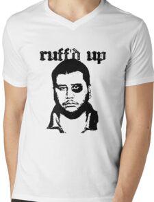 George Zimmerman - Roughed Up (2) Mens V-Neck T-Shirt