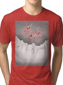 The wall Tri-blend T-Shirt