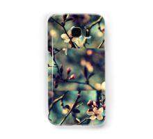 Vintage Blossoms - Triptych Samsung Galaxy Case/Skin