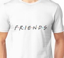 Friends Logo High Res Unisex T-Shirt