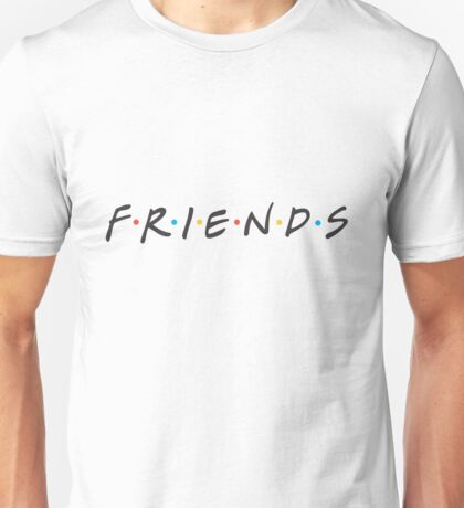 Friends Logo High Res Unisex T-Shirt