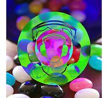 Lollipop Likes Headphone Rock by becubic