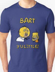 Y U Little Homer + Bart Simpson Mashup Meme T-Shirt