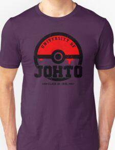 Pokemon - University of Johto (Grunge) T-Shirt