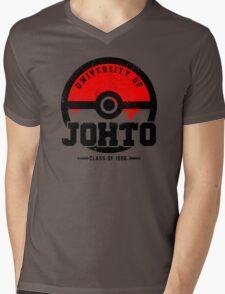 Pokemon - University of Johto (Grunge) Mens V-Neck T-Shirt