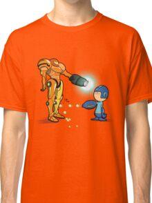 Samus Vs Mega Classic T-Shirt