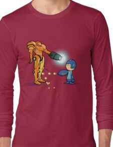 Samus Vs Mega Long Sleeve T-Shirt